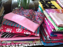 Pillowcases donated by High School Students