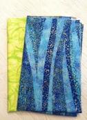 2 fabrics provided