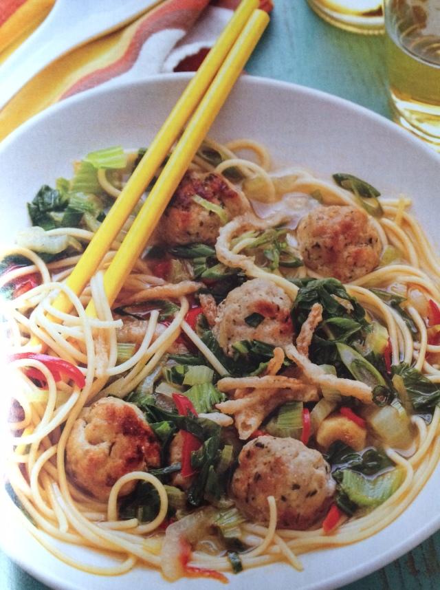 Chinese Spaghetti & Meatballs