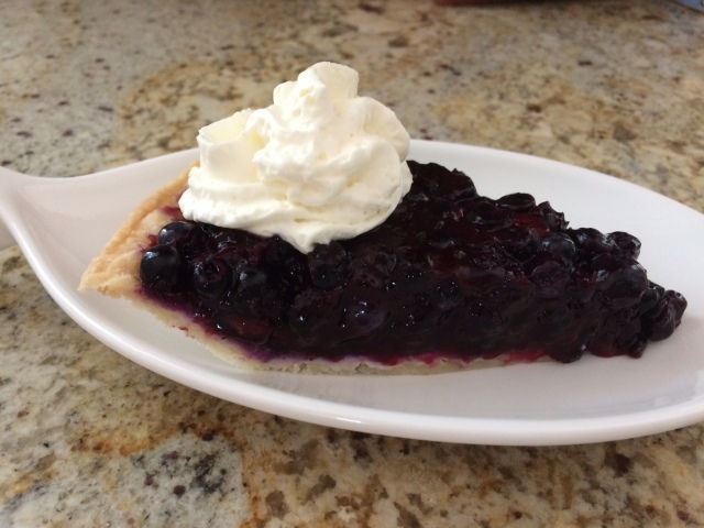 blueberry pie fresh