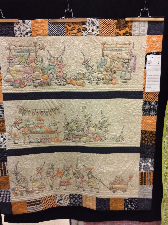 The Mystery of the Salem Quilt Guild