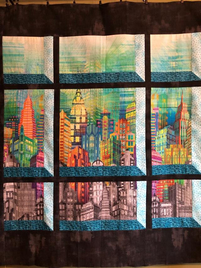 window on New York