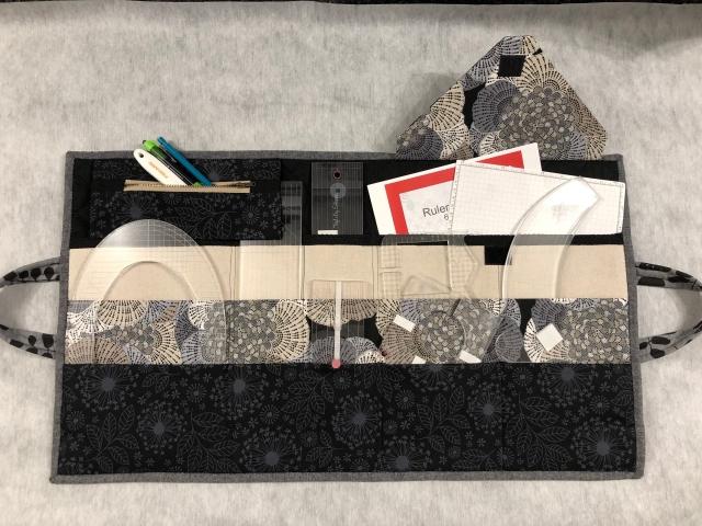 ruler bag inside